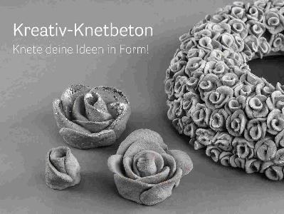 Ihr fachgesch ft f r kreative ideen bastelparadies for Knetbeton ideen